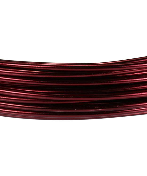 WR72212 = Aluminum Wire OX BLOOD COLOR 12ga 39 feet per Bag
