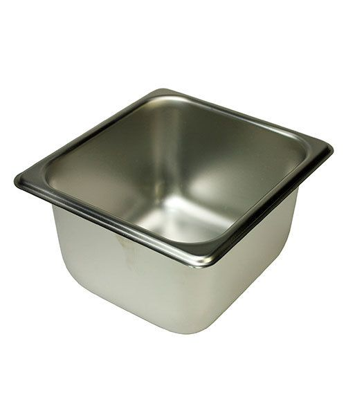 CA2971 = STAINLESS STEEL PAN 7 x 6-1/2 x 4'' HIGH