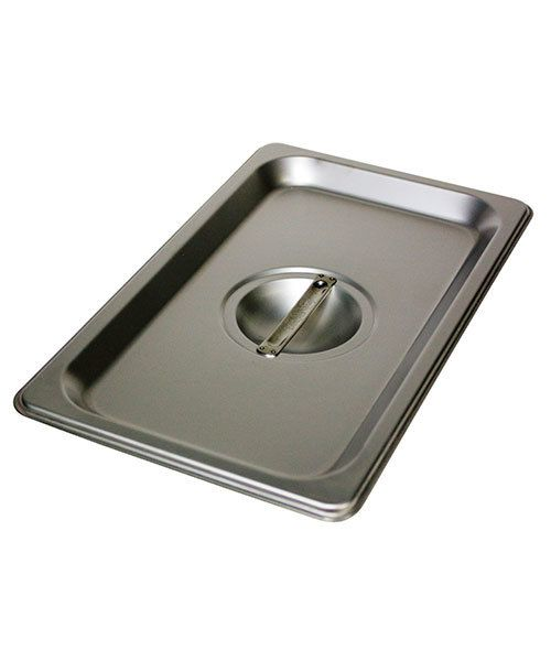 CA2973C = STAINLESS LID for 10-1/2'' x 6-1/2'' STAINLESS STEEL PAN