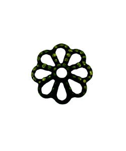 5020AB-76 = Antique Brass Bead Cap 7mm (Pkg of 50)