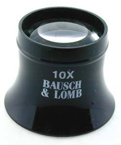 23.130 = Bausch & Lomb 10X Watchmaker's Loupe