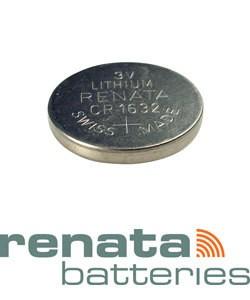 BA1632 = Battery - Renata 3v Lithium - #1632 (Pkg of 5)