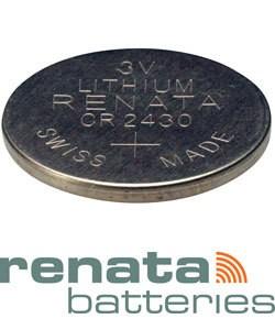 BA2430 = Battery - Renata 3v Lithium - #2430 (Pkg of 5)