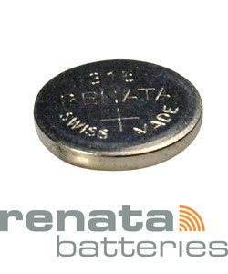 BA315 = Battery - Renata Mercury Free Watch #315 (SR716SW) (Pkg of 10)