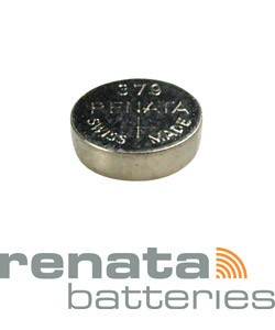 BA379 = Battery - Renata Mercury Free Watch #379 (SR521SW) (Pkg of 10)