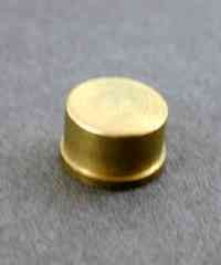 37.590 = REPLACEMENT BRASS FACE for 5oz MALLET