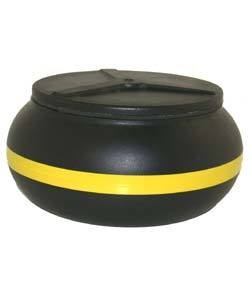 47.78501 = REPLACEMENT BOWL for 3qt VIBRATORY TUMBLER