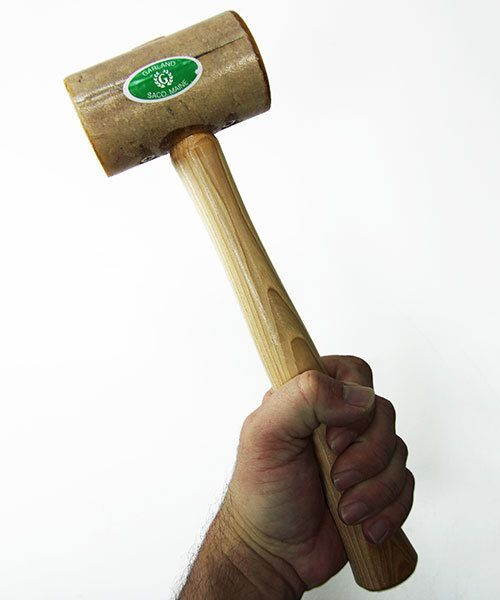 37.704 = Rawhide Mallet by Garland  (2'' face / 11oz head)