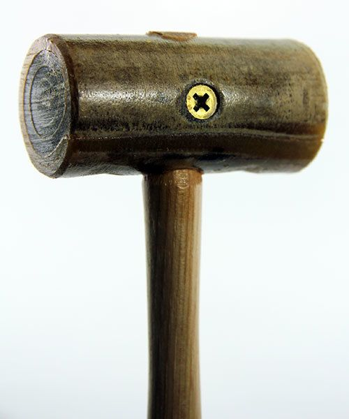 37.701 = Rawhide Mallet by Garland  (1-1/4'' face / 4oz head)