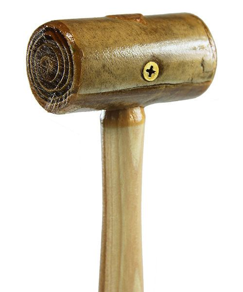 37.702 = Rawhide Mallet by Garland  (1-1/2'' face / 6oz head)