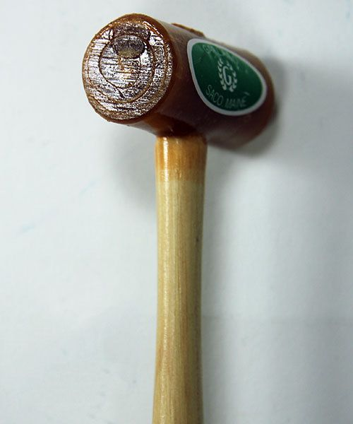 "37.700 = Rawhide Mallet by Garland  (1"" face / 2oz head)"