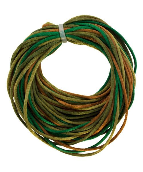 CD8104 = Rattail 1mm 4 COLOR EARTH TONES 3yd each = 12yd COIL