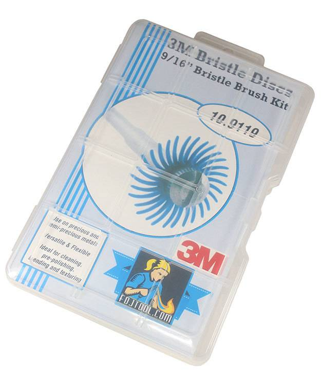 10.9119 = 3M 9/16'' Bristle Disc Kit 39pcs