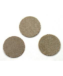 ST7653 = PSA Disc - 3M Diamond Flex Abrasive 400grit - 3/4'' (10pcs) **CLOSEOUT**
