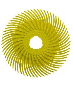 ST3001 = 3M Radial Disc 2''dia YELLOW 80grit (Pkg of 3)