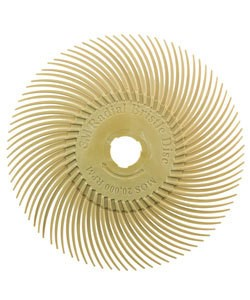 ST3016 = 3M Radial Disc 3''dia PEACH 6 MICRON grit (Pkg of 5)
