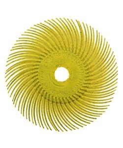 ST3011 = 3M Radial Disc 3''dia YELLOW 80grit (Pkg of 5)
