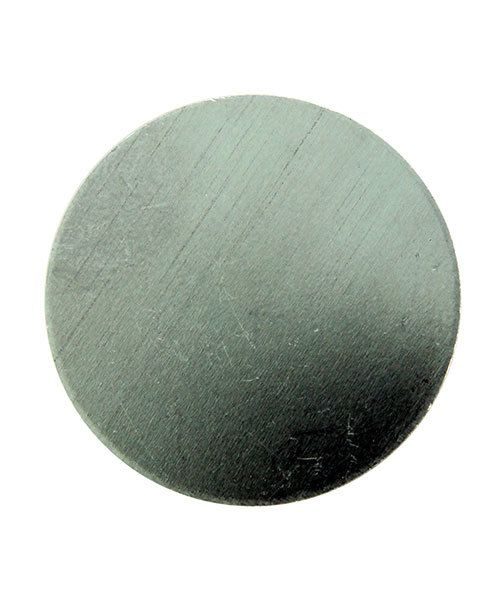 MSAL10520 = Aluminum Soft-Strike Stamping Blank - CIRCLE 1-1/4'' (Pkg of 6)