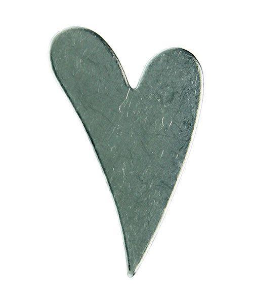 MSAL12720 = Aluminum Soft-Strike Stamping Blank - SWIRLY HEART 1-1/4'' (Pkg of 24)