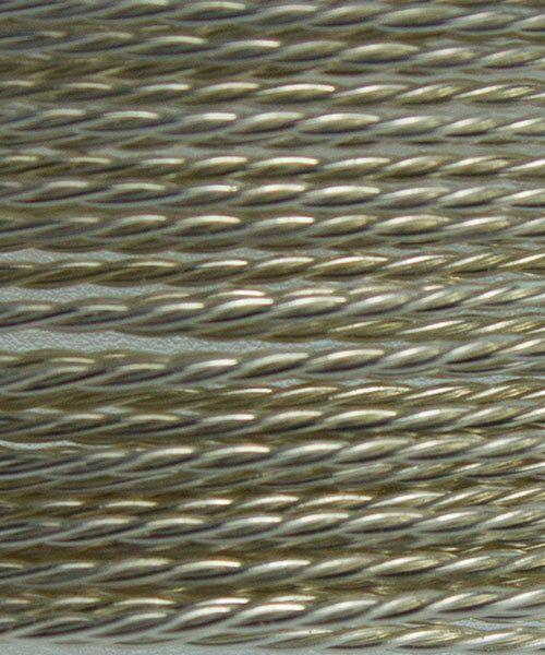 WR46024 = ARTISTIC WIRE DISPENSER PACK TWIST TR SILVER 24ga 5 yards