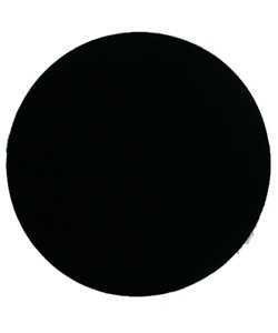 DIS1319 = Black Value Velvet Round Display Pad 11''