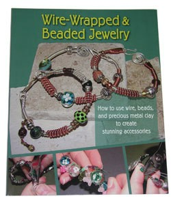 BK5268 = BOOK - WIRE-WRAPPED & BEADED JEWELRY