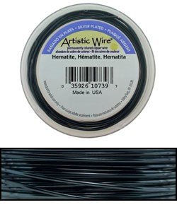 WR36924 = ARTISTIC WIRE RETAIL SPOOL SP HEMATITE 24ga 15 YARDS