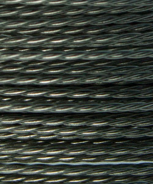 WR53824 = Artistic Wire Retail Spool Stainless Steel Twisted 24ga (10 yds)