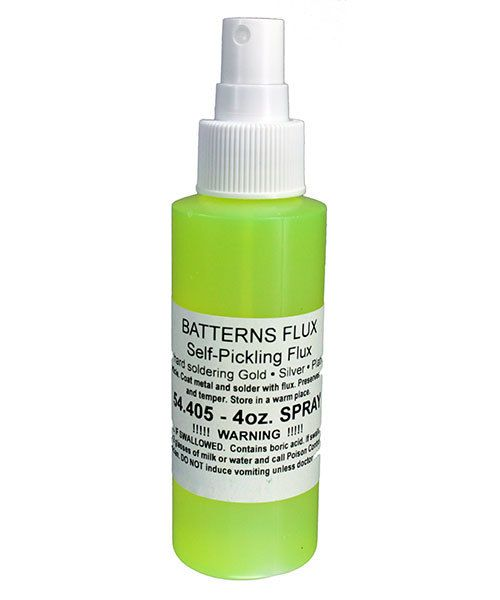 54.405 = Battern's Flux  4oz Spray Bottle