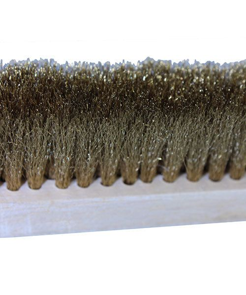 16.3101 = Brass Hand Brush with 4 Row