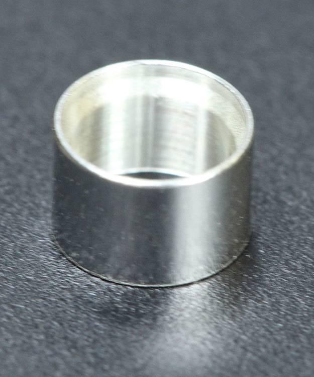 511S-5.0 = Bezel Setting 5.0mm Sterling Silver (3.6mm High) (Pkg of 3)