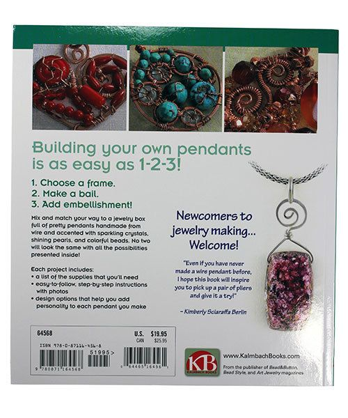 BK5383 = BOOK - BUILD YOUR OWN WIRE PENDANTS by Kimberly Sciaraffa ...