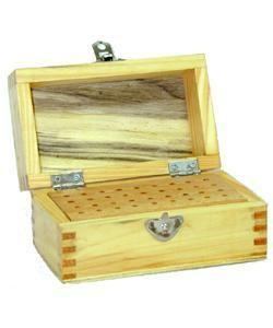 15.0375 = BUR BOX WOODEN 36 HOLES