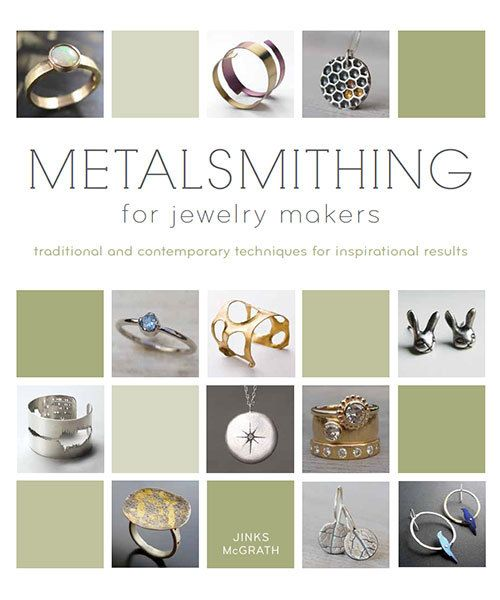 BK5392 = BOOK - Metalsmithing for Jewelry Makers:Techniques for Inspirational Results