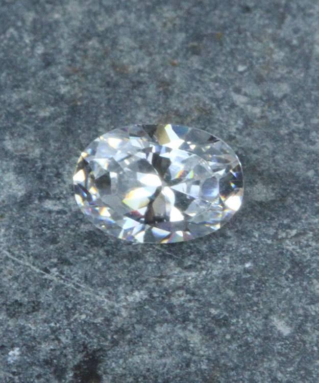 CZOV7X5 = Cubic Zirconia Oval Shape 7x5mm (Pkg of 5)