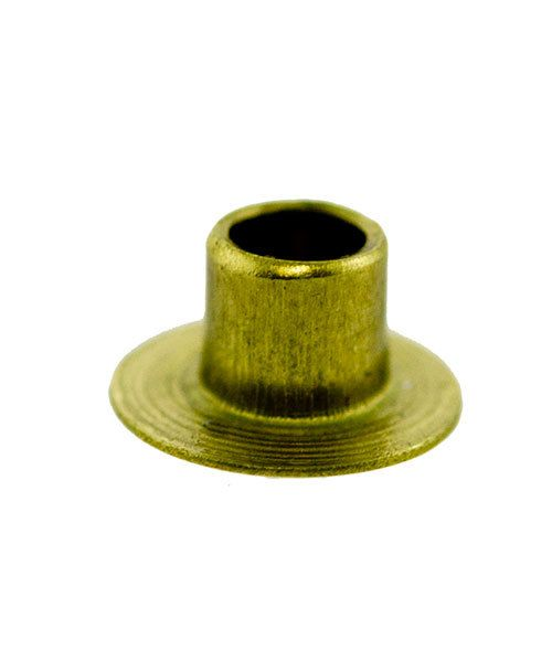 CCBR1711 = BRASS RIVETS 3/32''dia x 3/32''long (Pkg of 100)