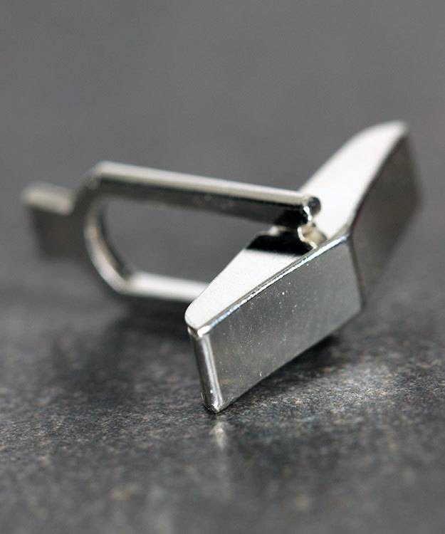 443S-01 = Cuff Link Back Sterling Silver (Each)
