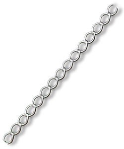 CURB045 = Curb Chain 045 Sterling Silver (Sold by the Foot)