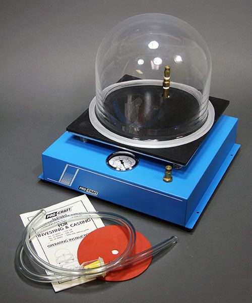 21.806G = Casting Vacuum table with Bell Jar but NO Pump