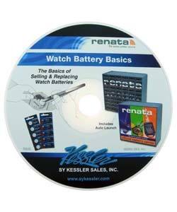 63.02005 = CD - WATCH BATTERY BASICS **CLOSEOUT**