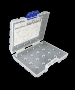 BX4085 = DOT BOX STORAGE SYSTEM SMALL EMPTY OUTER CASE