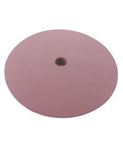 10.01382 = EVE SILICON ABRASIVES EXTRA FINE/PINK KNIFE EDGE WHEEL 5/8'' (x10)