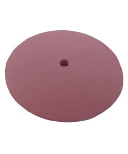 10.01383 = EVE SILICON ABRASIVES EXTRA FINE/PINK KNIFE EDGE WHEEL 7/8'' (x10)