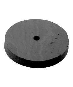 10.01375 = EVE SILICON ABRASIVES MEDIUM/BLACK SQUARE EDGE WHEEL 7/8'' (x10)