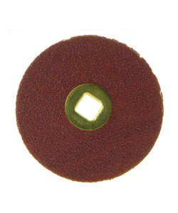 10.01081B = Moore's Snap On Sanding Disc - Medium - 7/8'' (Box of 50)