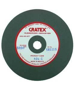 10.901 = CRATEX WHEEL EXTRA FINE 2''x1/2'' (EACH)