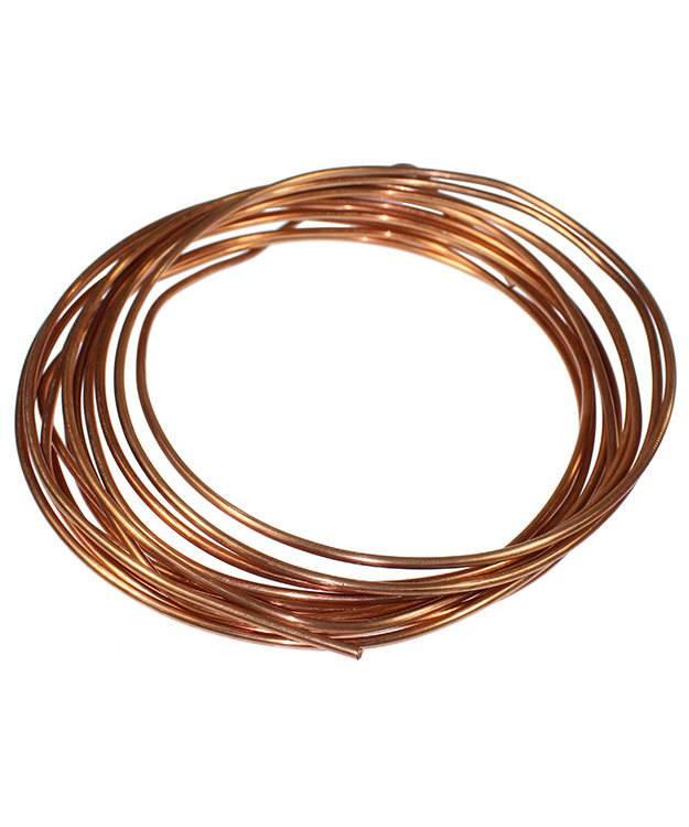 CRW06 = Copper Wire 6ga Round 4.1mm (Foot) - FDJ Tool