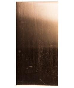 CS16-3 = Copper Sheet 16ga 3'' x 6'' 1.30mm Thick