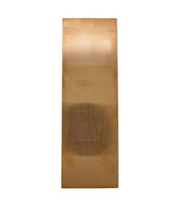 CS22-2 = Copper Sheet 22ga  2'' x 6'' 0.64mm Thick