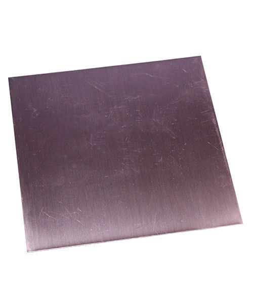 CS22-6 = Copper Sheet 22ga  6'' x 6'' 0.64mm Thick